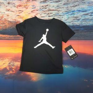 Jordan black tee size 3t